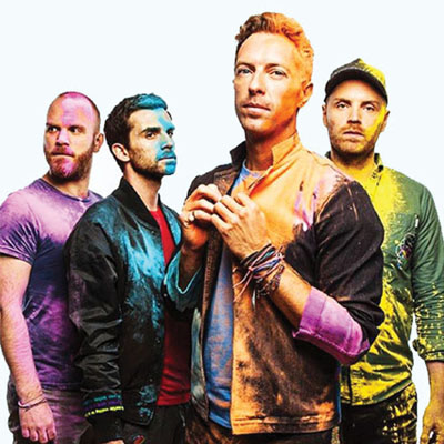 Coldplay Contact Information