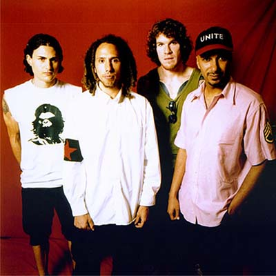 Rage Against The Machine Contact Information